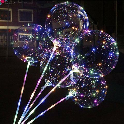 Светящиеся шары своими руками