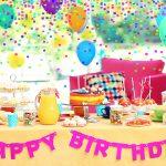 Как украсить комнату шарами на день рождения