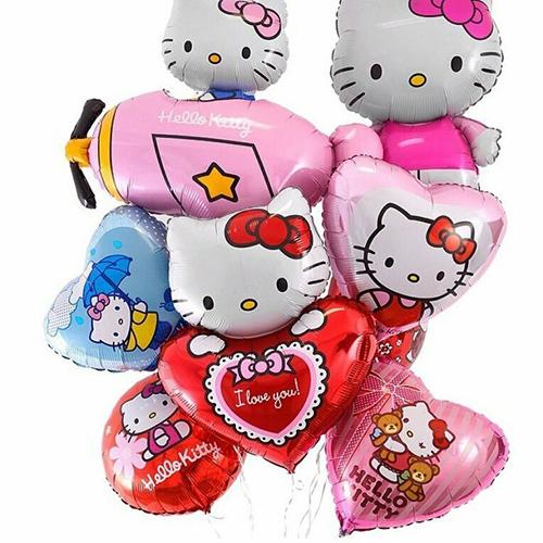 Разные шарики Hello Kitty