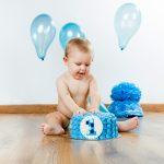 Оформление шарами на 1 год